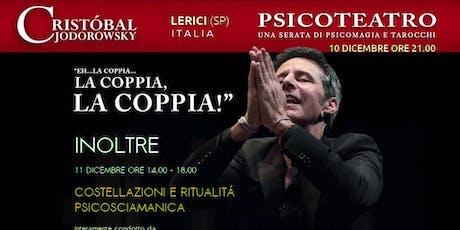 PSICOTEATRO - CRISTOBAL JODORWSKY biglietti