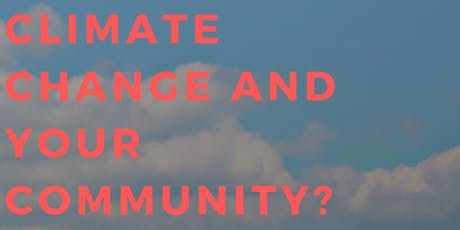 Climate change and your community tickets