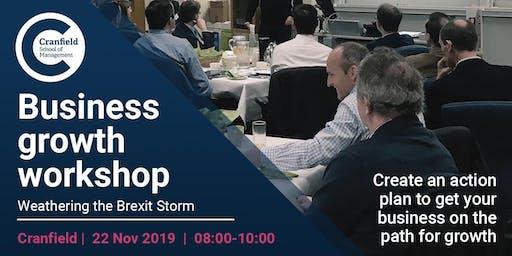 Business Growth Workshop - Cranfield