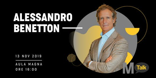 MTalk - Alessandro Benetton