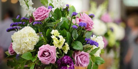 Flower Arranging and Lunch tickets