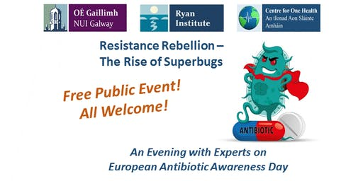 """Resistance Rebellion - The Rise of Superbugs""    Free Event"
