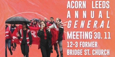 Shape Your Union: ACORN Leeds AGM tickets