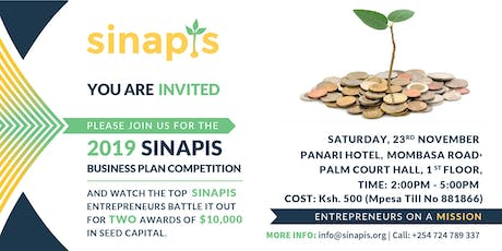 Sinapis Academy Business Plan Competition (Ksh 500 entry) tickets