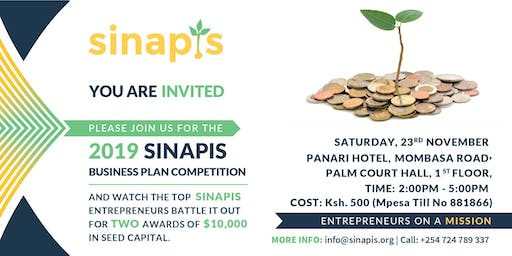 Sinapis Academy Business Plan Competition (Ksh 500 entry)