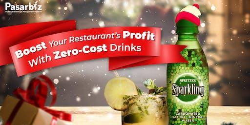 Claim your Zero Cost Drinks & Increase your Restaurant's REVENUE!