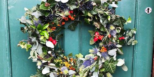Festive wreath-making workshop with Florette