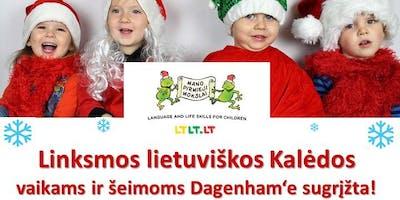 Linksmos lietuviškos Kalėdos