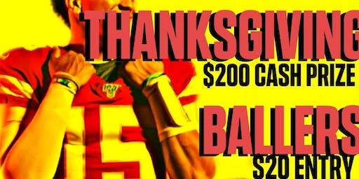 Thanksgiving Ballers