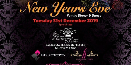 Bollywood NYE Party Leicester tickets