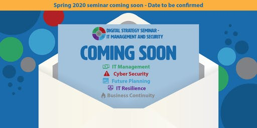Digital Strategy Seminar - IT Management and Security