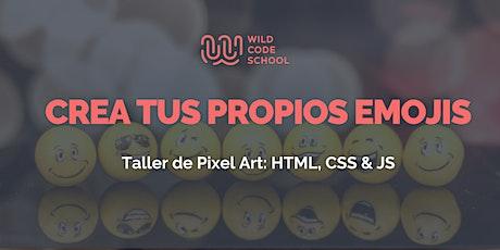 Workshop HTML, CSS & JS: ¡Crea tus propios emojis! tickets