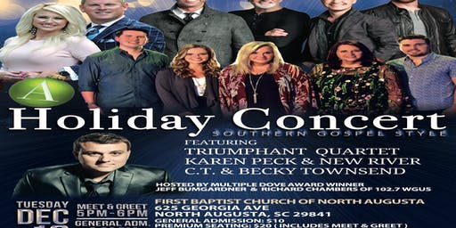 """A Holiday Concert, Southern Gospel Style!!"