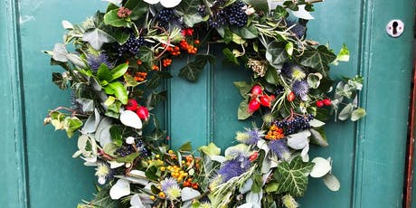 Festive wreath-making workshop with Florette tickets