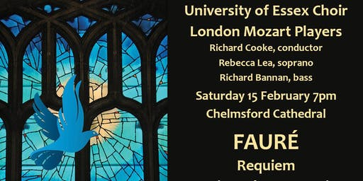 University of Essex Choir - Fauré Requiem in Chelmsford Cathedral