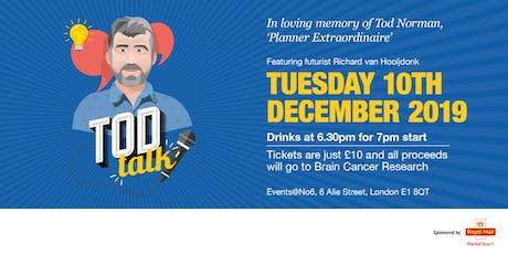 Tod Talk featuring Richard van Hooijdonk tickets