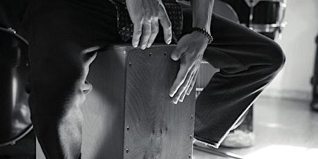 Je découvre le cajon : atelier musique avec Marc Bachus billets