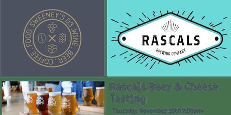 Rascals Beer & Cheese Tasting @ Sweeney's D3 tickets