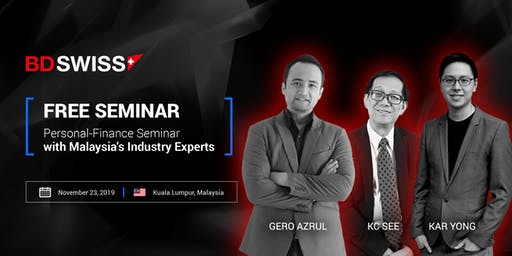 Exclusive Money-Management & Investing Seminar  in Malaysia
