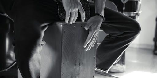 Je découvre le cajon : atelier musique avec Marc Bachus