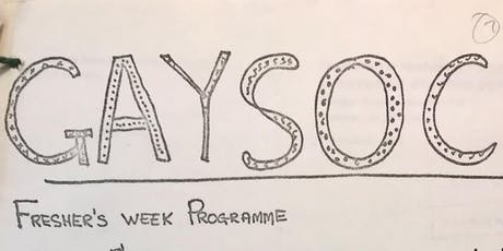 Gaysocs: a brief and incomplete history tickets