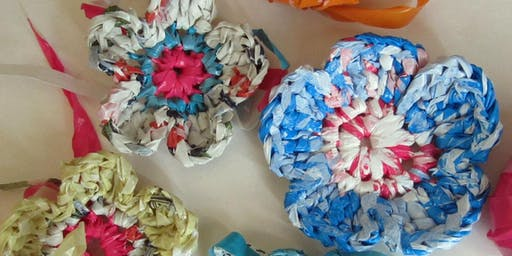 REDUCE, REUSE, RECYCLE | Crocheting with PLARN