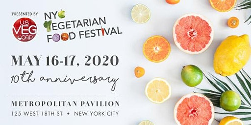 The 10th Annual NYC Vegetarian Food Festival!