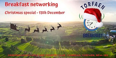 Torfaen Christmas Breakfast December 13th 2019 tickets