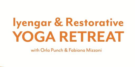 Iyengar & Restorative Yoga Retreat