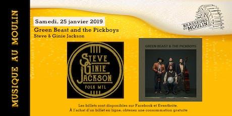 Musique au Moulin - Greenbeast & the Pickboys billets