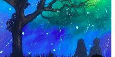 Paint Night in Canberra: Star Gazing