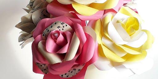 Make a Paper Rose Posy Workshop