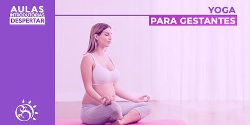 Aula Introdutória - Yoga para Gestantes