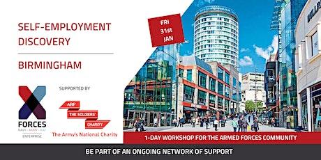 Self Employment Discovery Workshop- Birmingham tickets