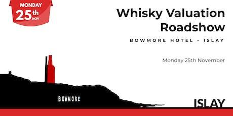 Whisky Valuation Roadshow - Islay tickets