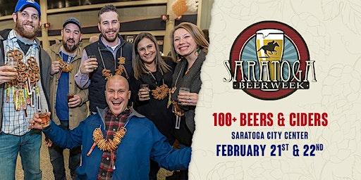 Saratoga Beer Week - Saratoga Cider Night and Saratoga Beer Summit