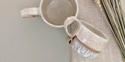 Mug making - Adult evening pottery workshop