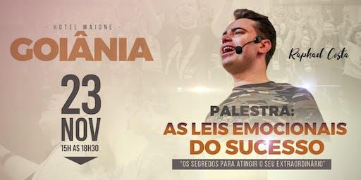 Palestra: As Leis Emocionais do Sucesso - com Raphael Costa- Goiânia