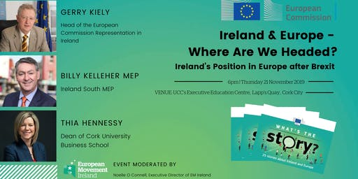 CORK | Ireland's Position in Europe after Brexit