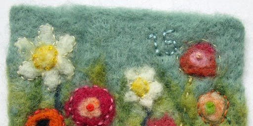 Textile Therapy | Needle Felted Pictures
