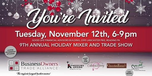 BOTA Holiday  Mixer and Trade Show