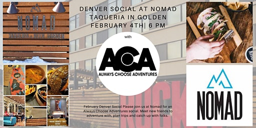 February Denver Social with Always Choose Adventures