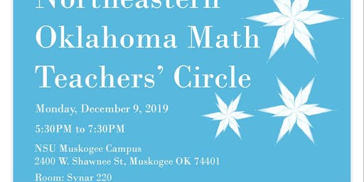 December NEOK Math Teacher's Cirlce Meeting