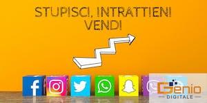 Genio Digitale - Instagram e Social, Storytelling e...