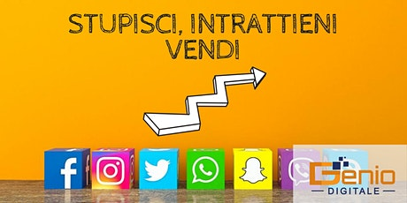 Genio Digitale - Instagram e Social, Storytelling e Marketing Automatico  biglietti