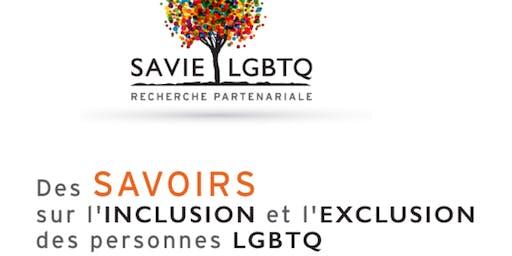 Colloque étudiant interdisciplinaire SAVIE LGBTQ