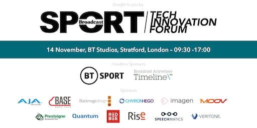 Sports Tech Innovation Forum 2019