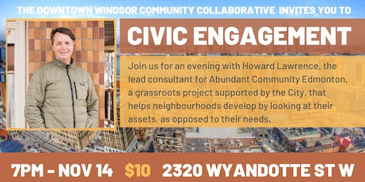 Civic Engagement with Howard Lawrence