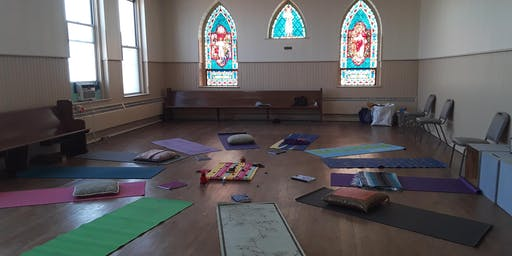You Me WE! YOGA for the Community! No experience needed! Gentle wake up class