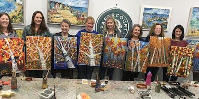 Paint & Sip Evenings @ Papercourt Studio